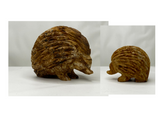 Jasper Mother And Baby Hedgehog Carvings