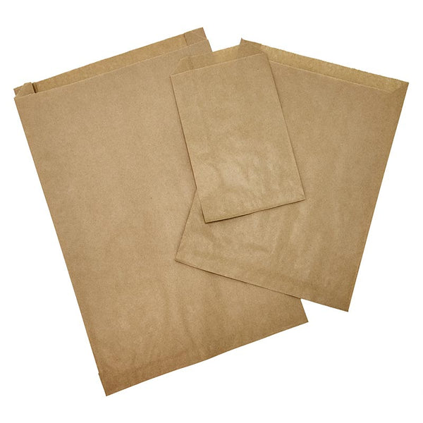 Economy Kraft Brown Merchandise Bags, Pack of 250 - GeorgiaBags