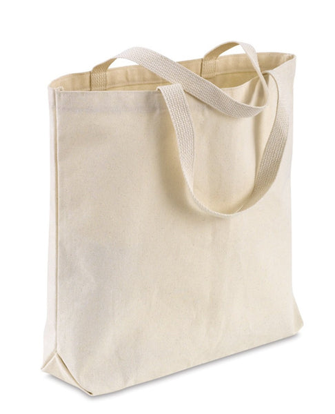 Strong-Durable Heavy Duty 100% Canvas Tote Bags with Bottom Gusset CABG100 - GeorgiaBags