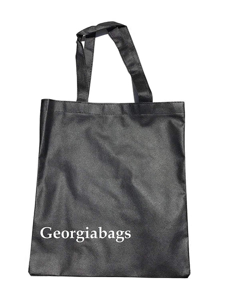50 Pack Promotional Cheap Tote Bags, Non-Woven Standard Size Bags
