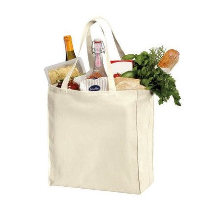 Reusable Grocery Canvas Tote Bags