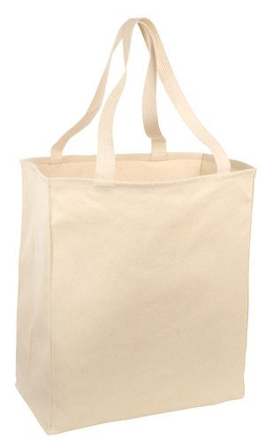 12oz 100% Cotton Over-the-Shoulder Grocery Tote Bag - GeorgiaBags
