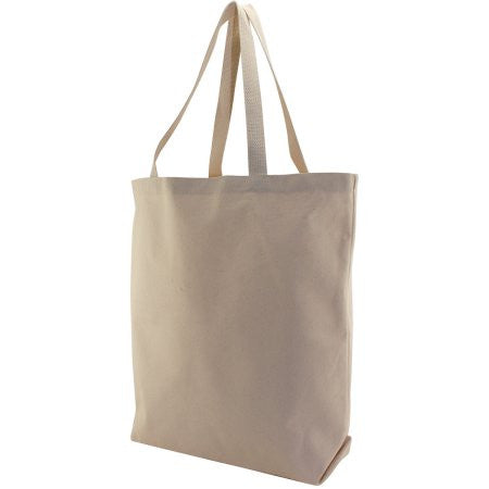 Smart Sturdy Canvas Tote Bag-Natural Color by Georgiabags