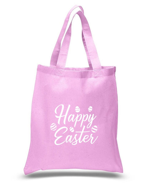 Happy Easter Custom Cotton Tote Bag 115 - GeorgiaBags