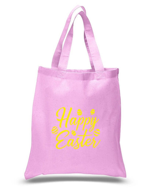 Happy Easter Custom Cotton Tote Bag 116 - GeorgiaBags