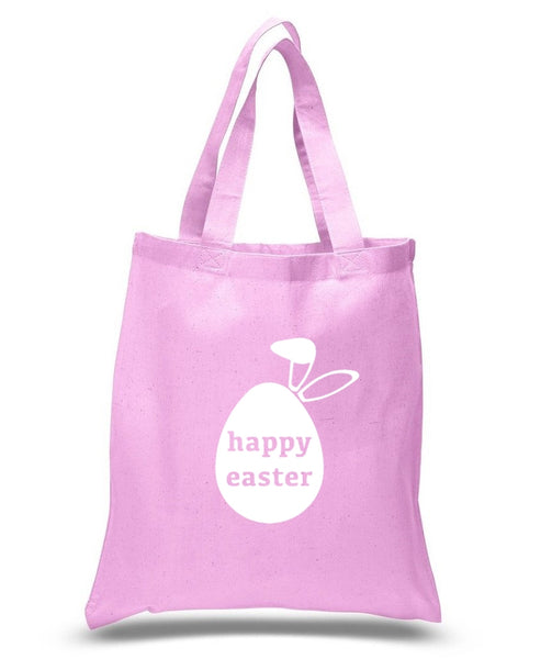 Happy Easter Custom Cotton Tote Bag 118 - GeorgiaBags