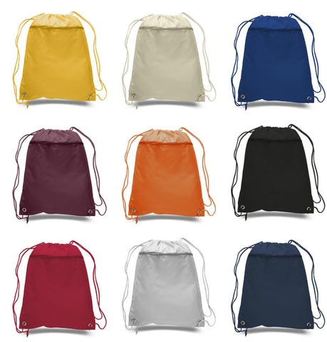 Polyester Cheap Drawstring Cinch Bags Wholesale