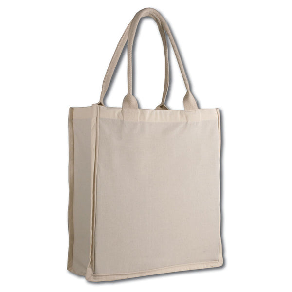 Cotton Tote Bags with Gusset - GeorgiaBags
