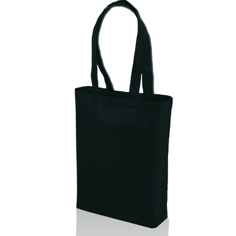 non woven promotional black tote bags