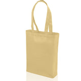natural non woven promotional tote bag