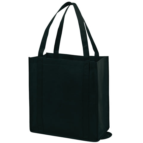 Promotional Non Woven Black Tote Bags