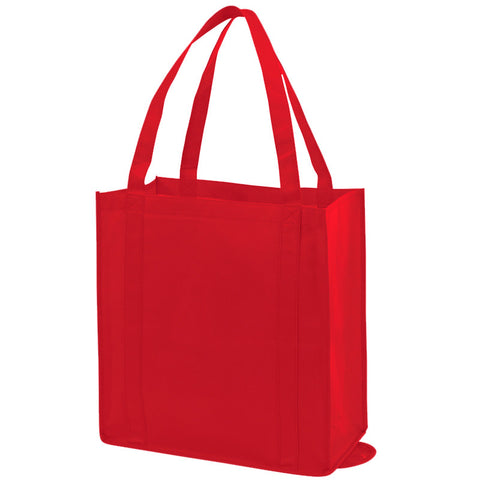 Bulk Promotional Non Woven Tote Bags Red