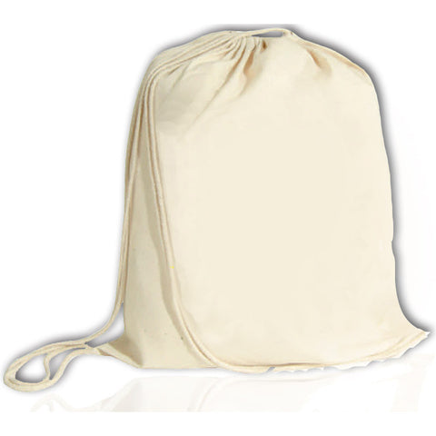 Bulk Cheap Drawstring Backpack Natural