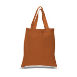 12 Pack Economical Basic Natural Cotton Tote Bags CB100 (Standard Size) - GeorgiaBags