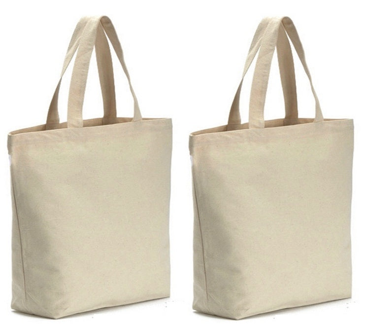 c85b1f781ca 4 Pack Heavy Natural Canvas Tote Bag, 16