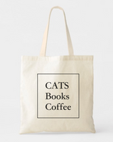 Cat & Books Lovers Tote Bags - GeorgiaBags
