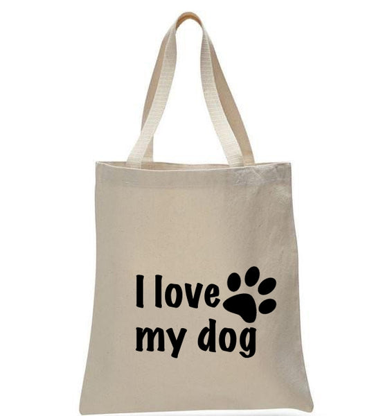 I Love My Dog - GeorgiaBags