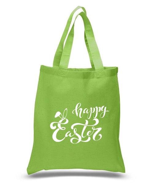 Happy Easter Custom Cotton Tote Bag 119 - GeorgiaBags