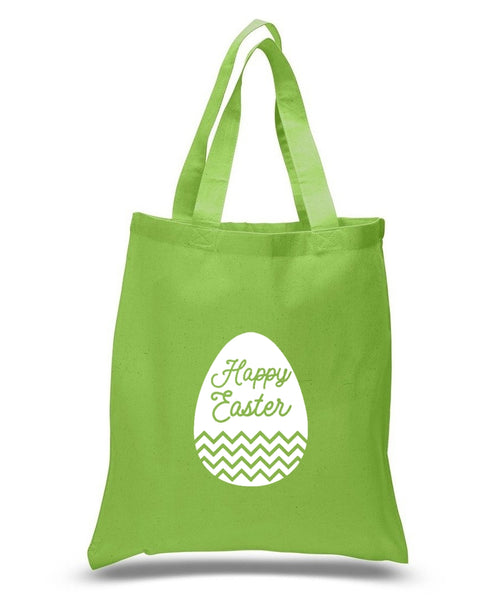 Happy Easter Custom Cotton Tote Bag 120 - GeorgiaBags
