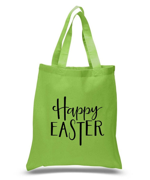 Happy Easter Custom Cotton Tote Bag 121 - GeorgiaBags