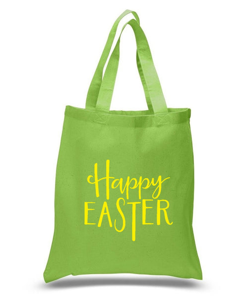 Happy Easter Custom Cotton Tote Bag 122 - GeorgiaBags