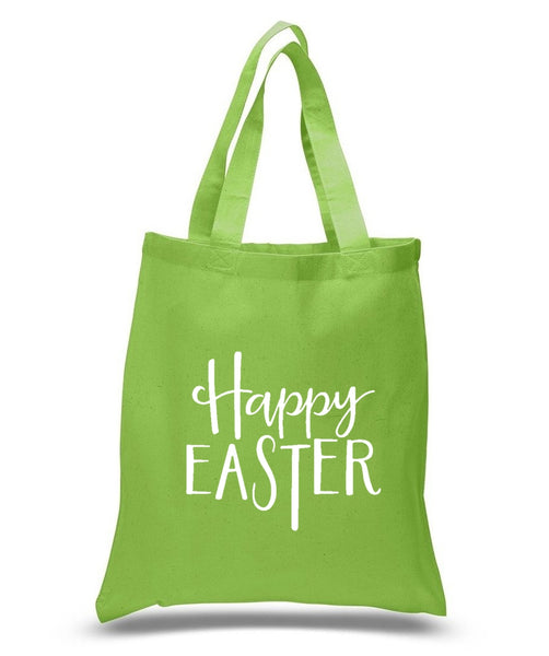 Happy Easter Custom Cotton Tote Bag 123 - GeorgiaBags