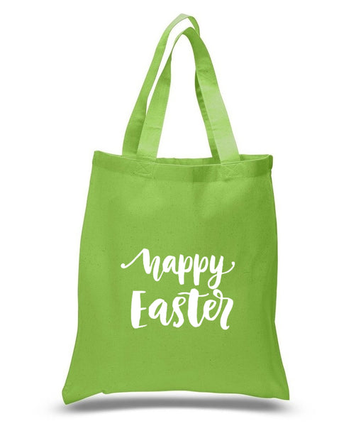 Happy Easter Custom Cotton Tote Bag 124 - GeorgiaBags