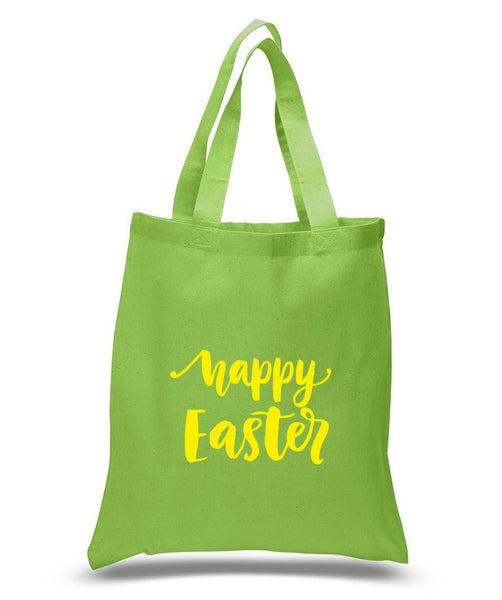 Happy Easter Custom Cotton Tote Bag 125 - GeorgiaBags