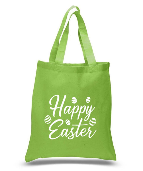 Happy Easter Custom Cotton Tote Bag 127 - GeorgiaBags