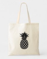 Pineapple Canvas Tote Bags - GeorgiaBags