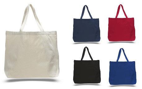 Heavy Canvas Tote Bags with Extra long web handles - GeorgiaBags