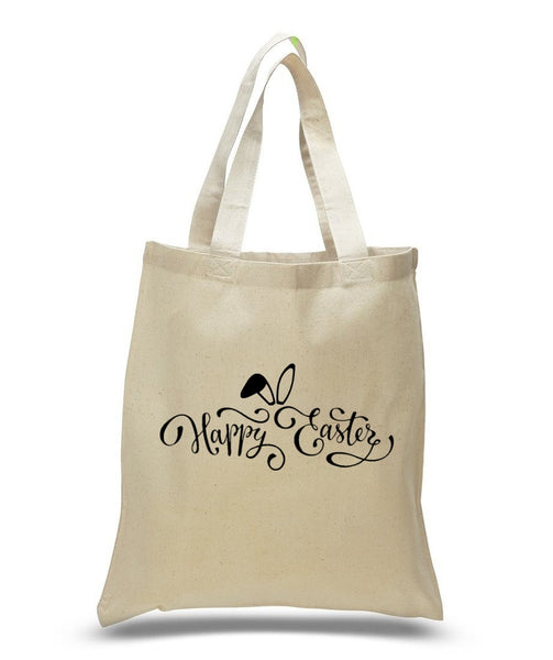 Happy Easter Custom Cotton Tote Bag 104 - GeorgiaBags