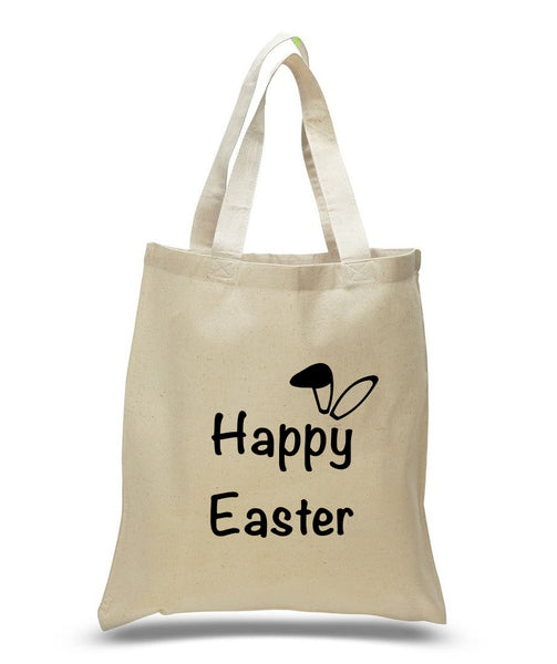 Happy Easter Custom Cotton Tote Bag 101 - GeorgiaBags