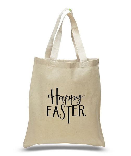Happy Easter Custom Cotton Tote Bag 102 - GeorgiaBags