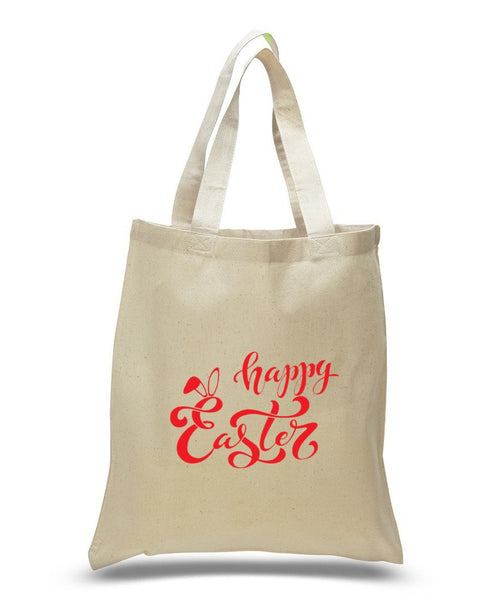 Happy Easter Custom Cotton Tote Bag 111 - GeorgiaBags
