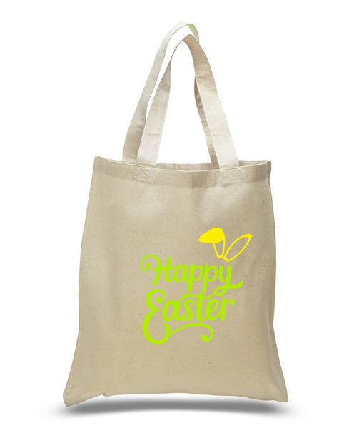 Happy Easter Custom Cotton Tote Bag 112 - GeorgiaBags
