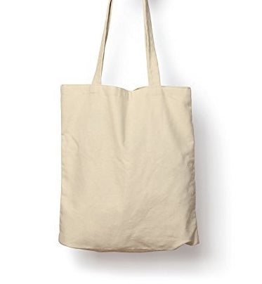 "Unprinted Plain Natural Cotton Tote Bags with 3"" Gusset - GeorgiaBags"