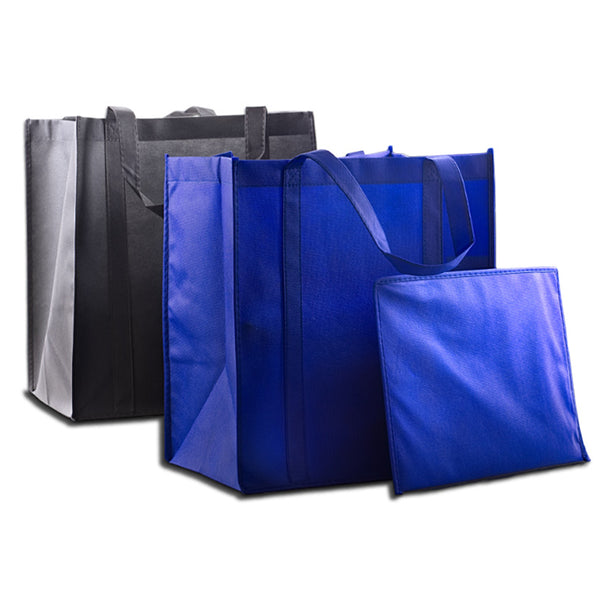25 Pack Heavy Duty Nonwoven Shopping Bag - GeorgiaBags
