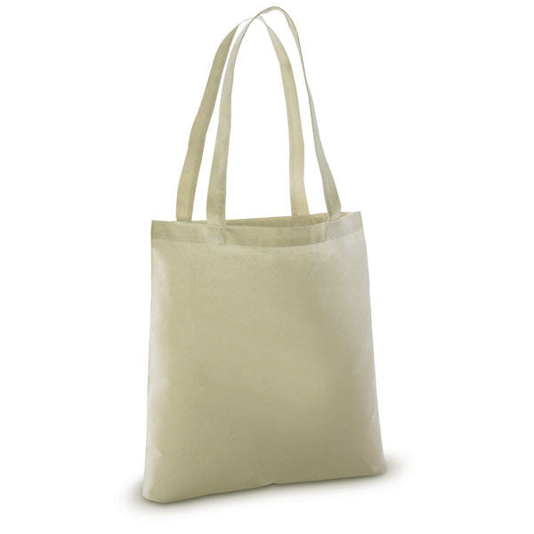 12 Pack Lightweight 100% Cotton Sheeting Natural Tote Bags - GeorgiaBags