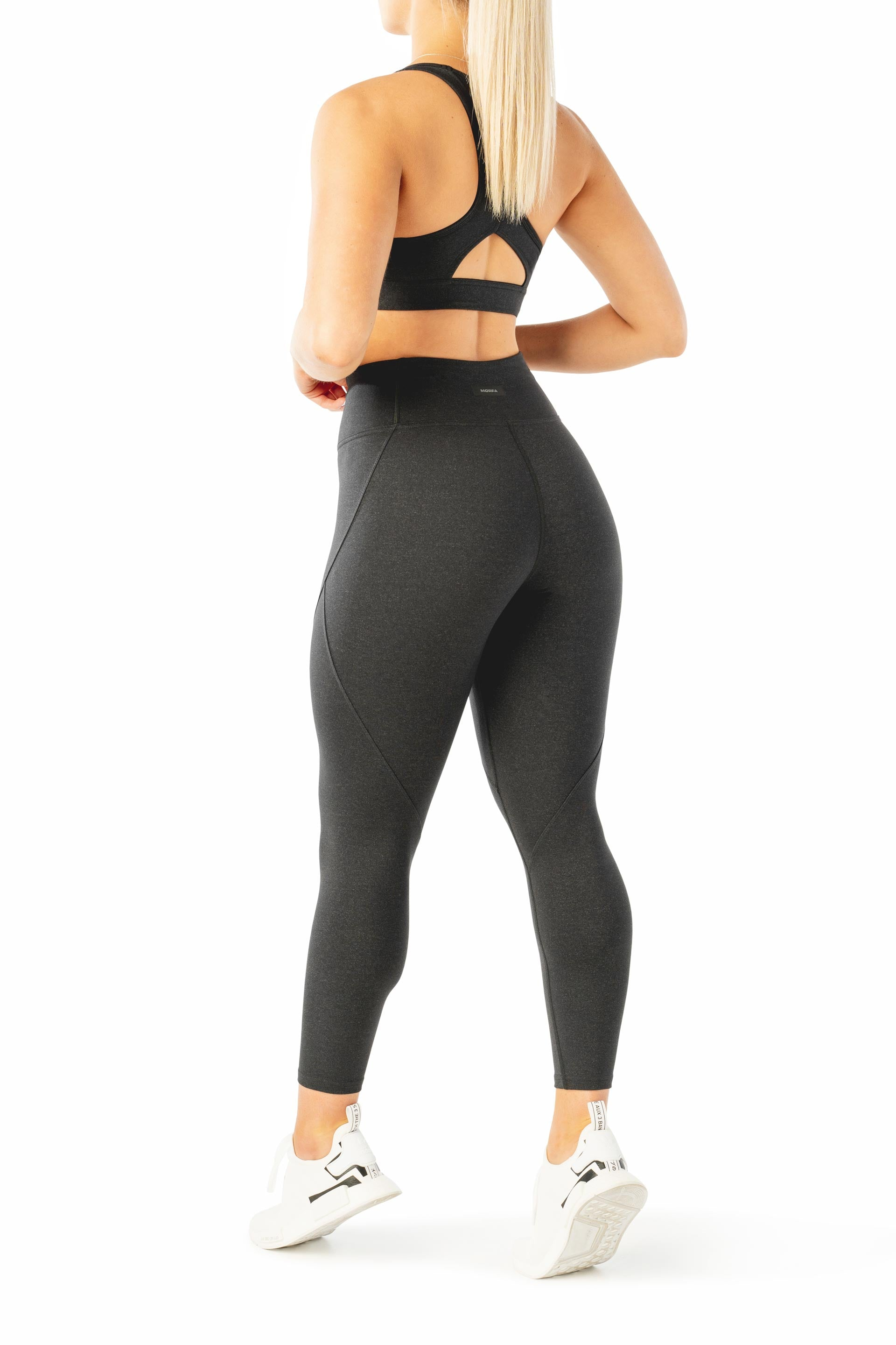 SCULPT 7/8 TIGHTS - BLACK MARL