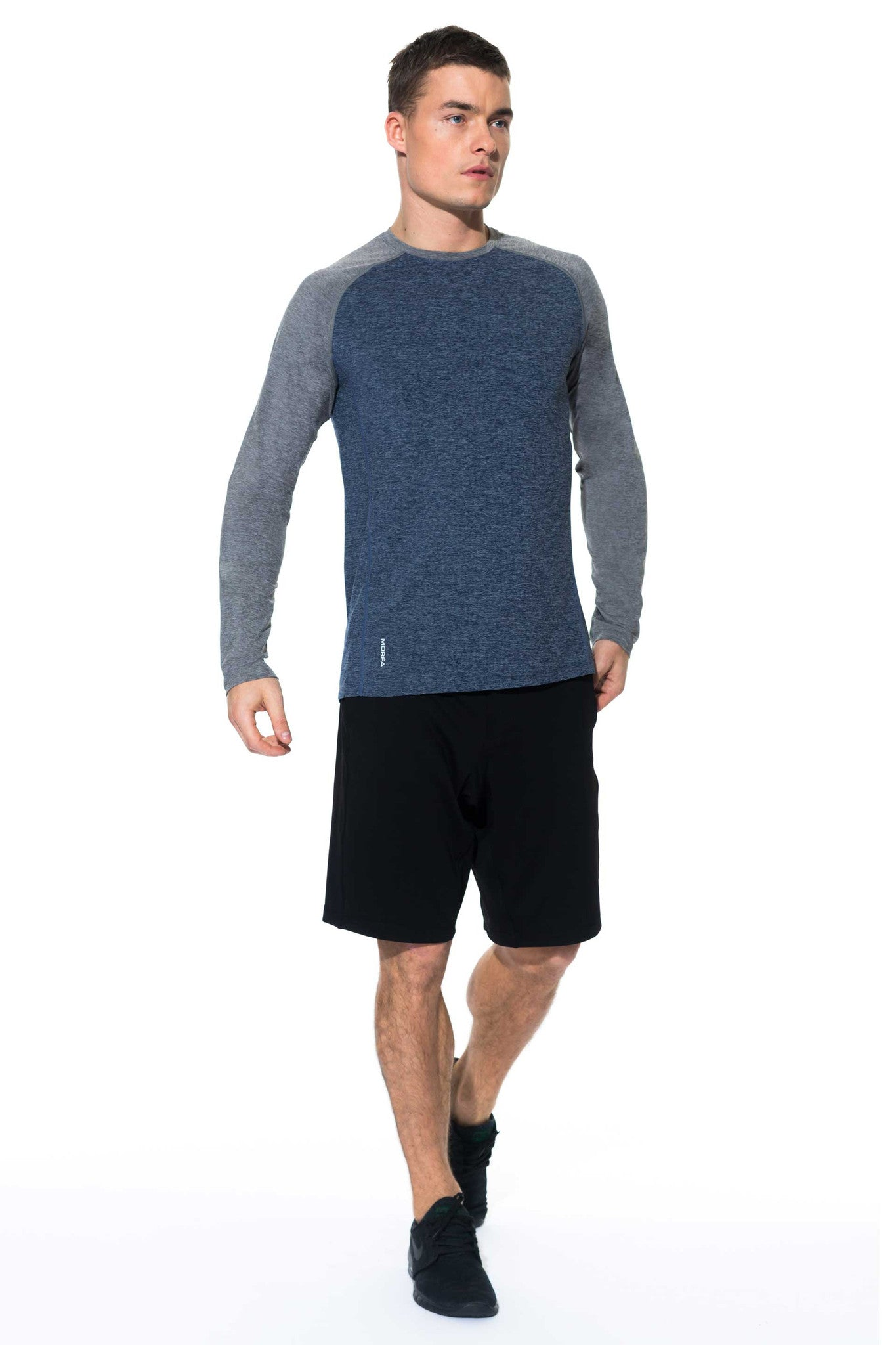 FOCUS LONG SLEEVE - ECLIPSE/STEEL - ( SIZES: S, M & XL )