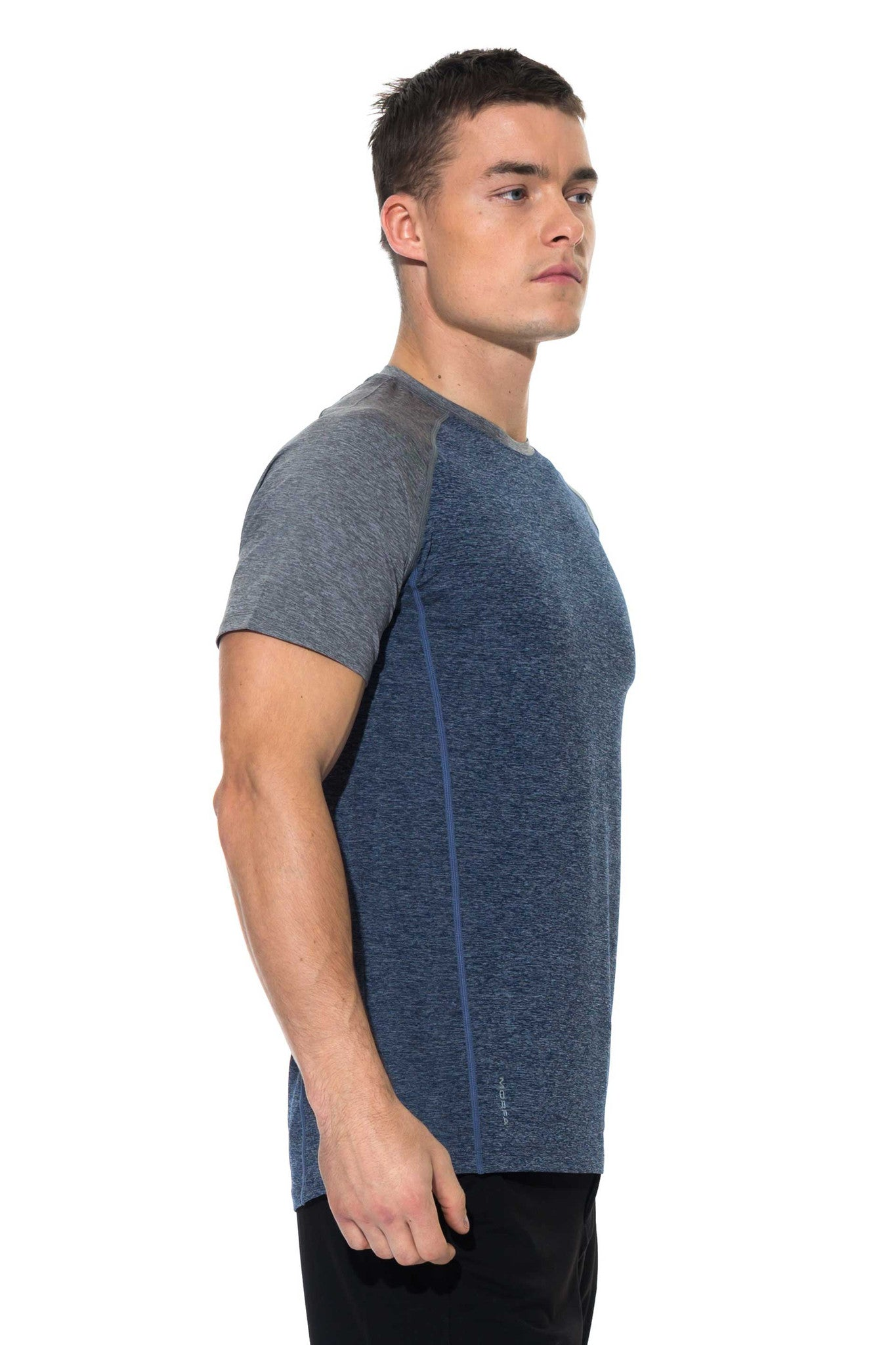 CORE T-SHIRT - ECLIPSE/STEEL