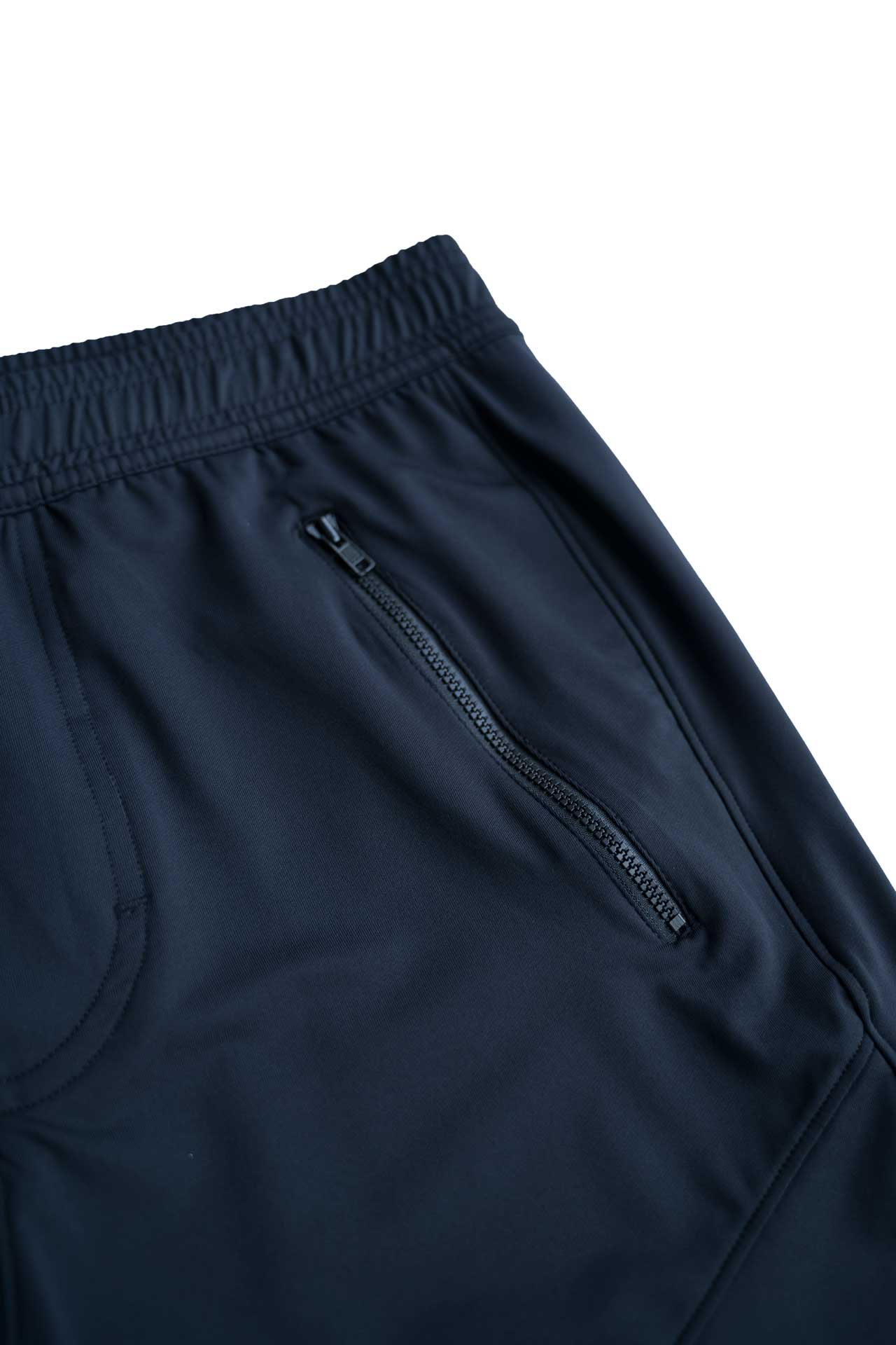 LIGHTWEIGHT -TECH STRETCH TRAINING SHORTS - BLACK