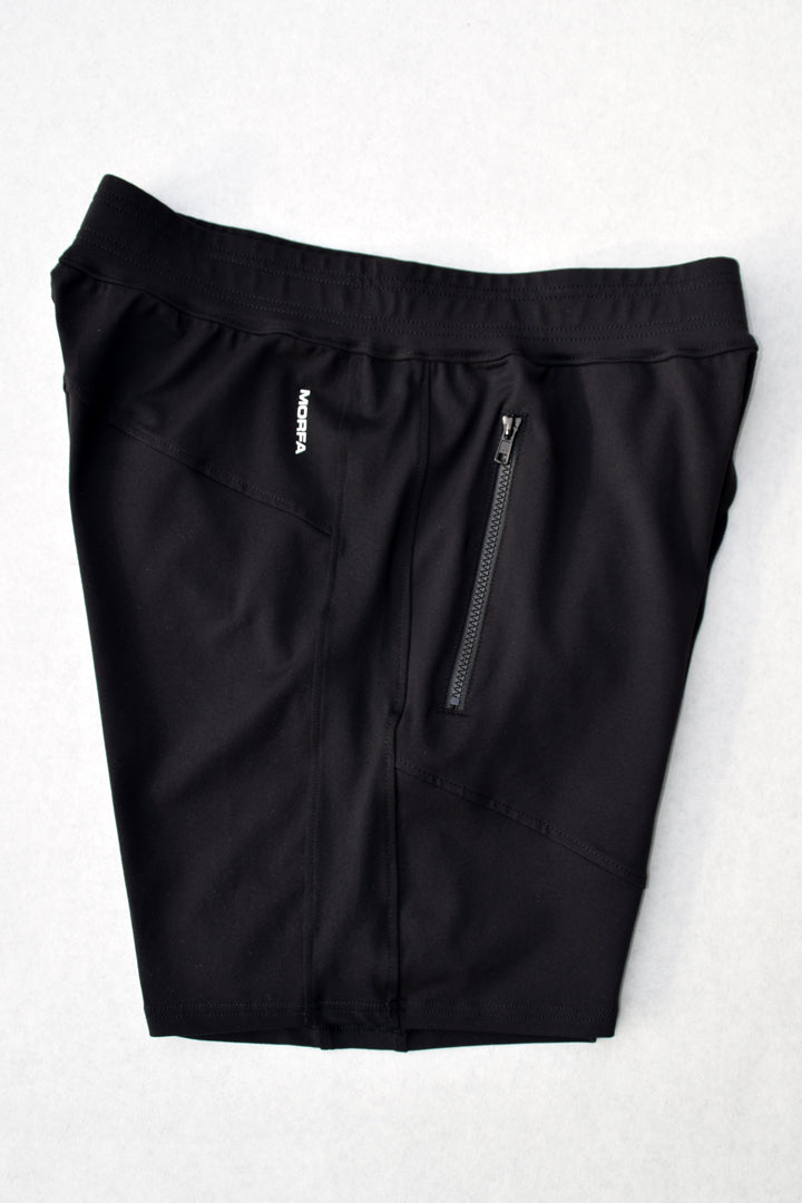 TECH STRETCH TRAINING SHORTS - BLACK