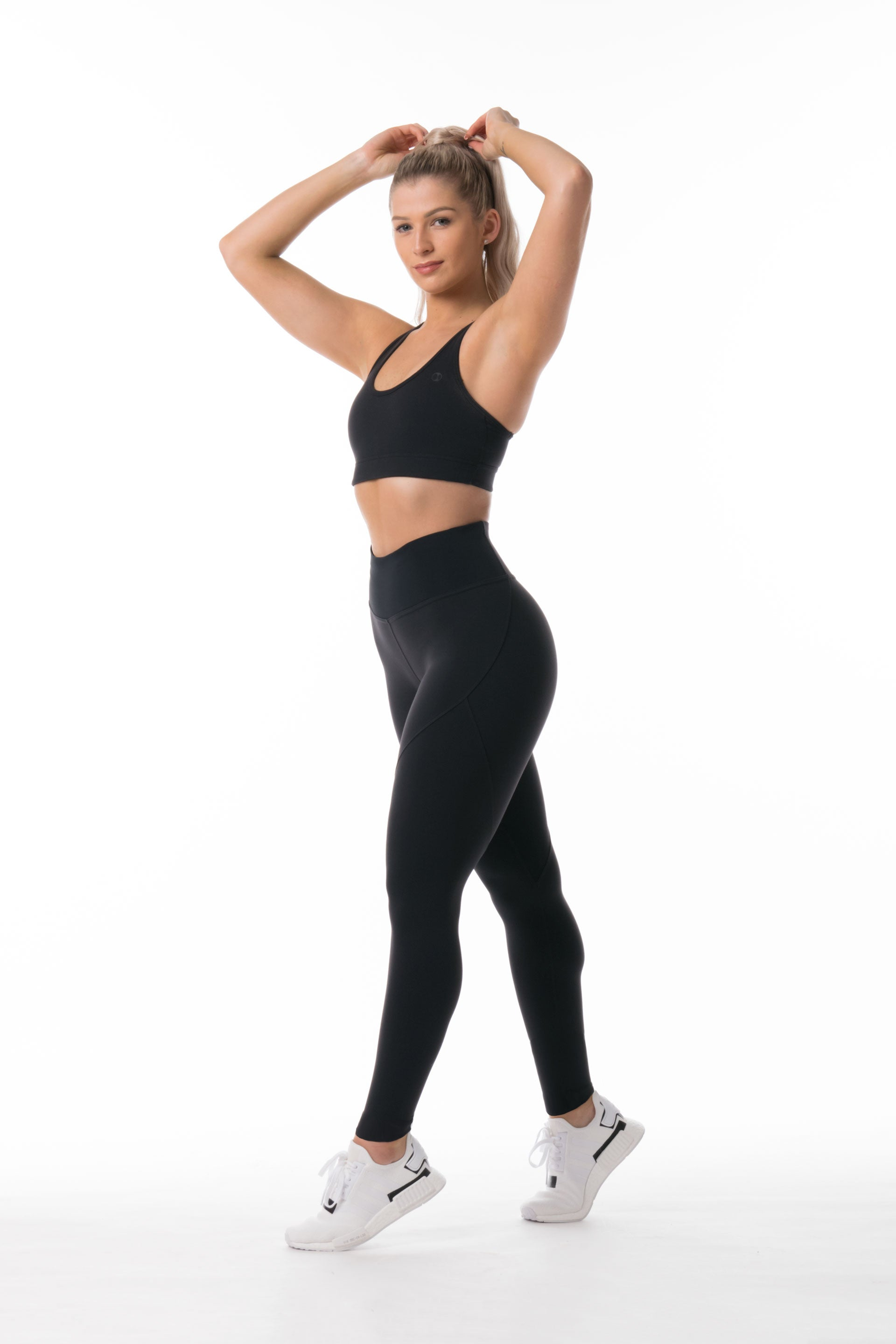 SCULPT F/L TIGHTS - BLACK