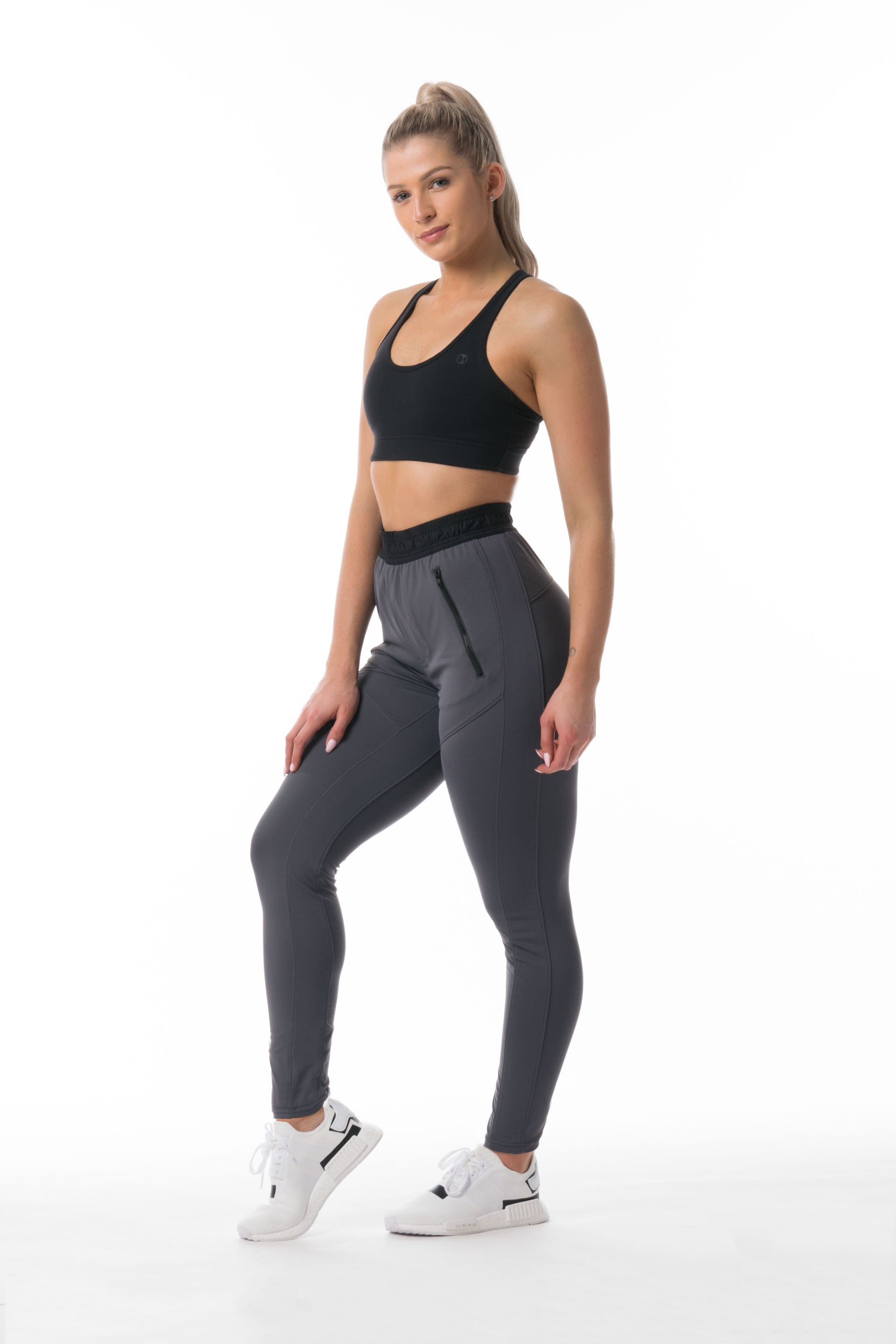 Active Pant - GREY/ BLACK