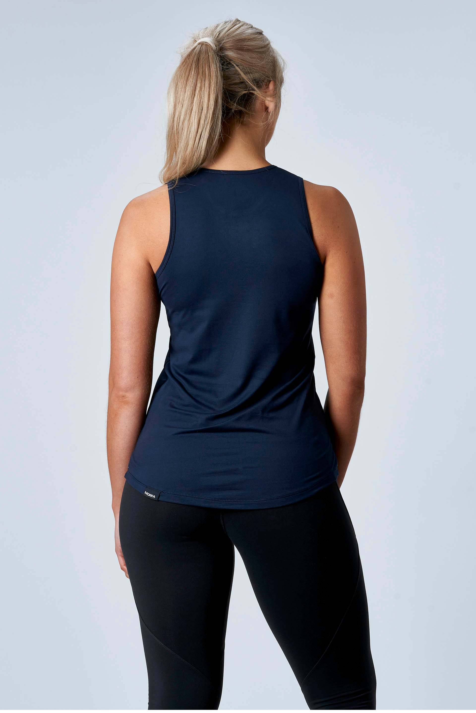 CarbonTech - HIGH NECK TANK - NAVY
