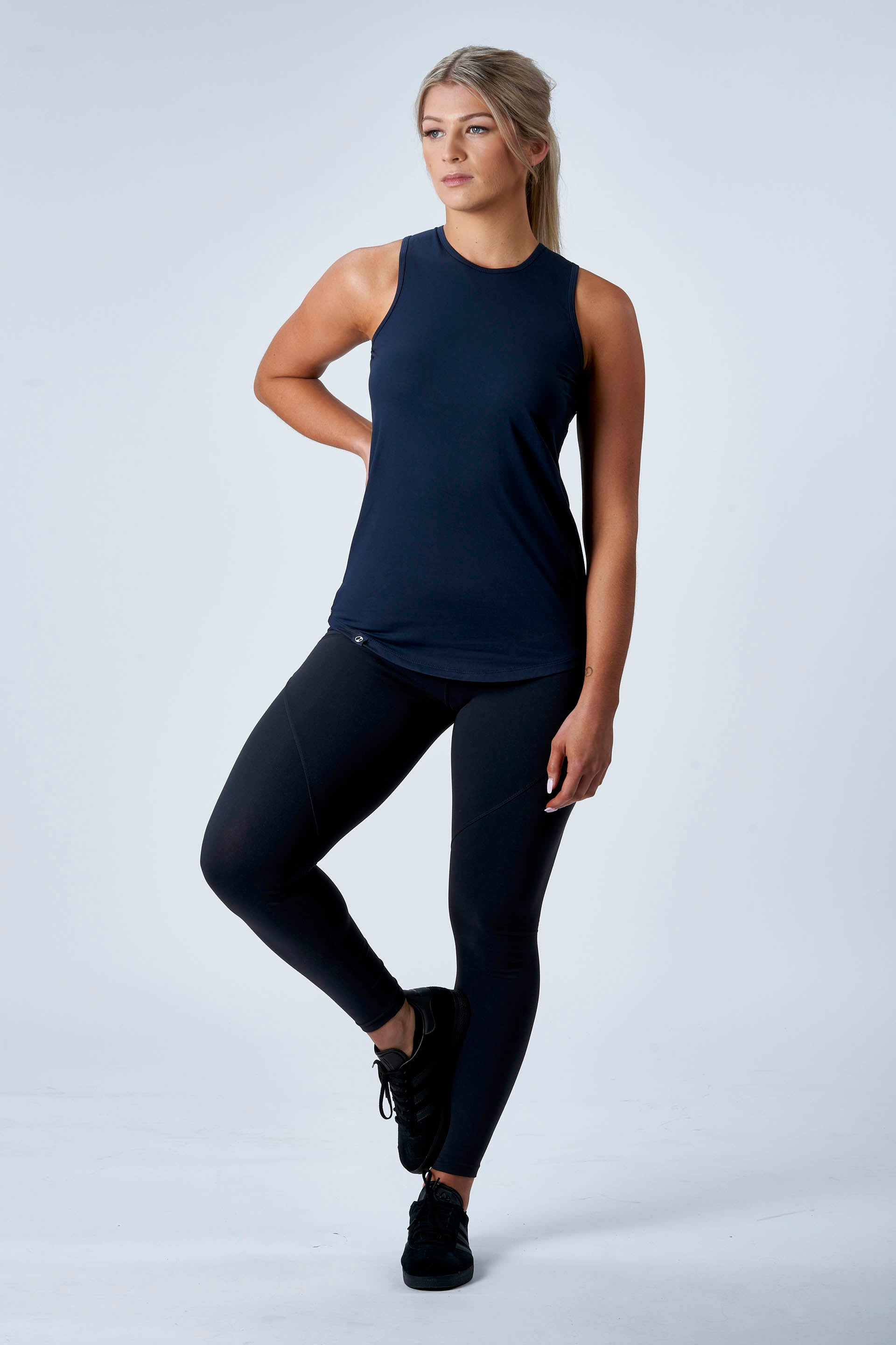 OUTFIT - SCULPT F/L TIGHTS + HIGH NECK TANK