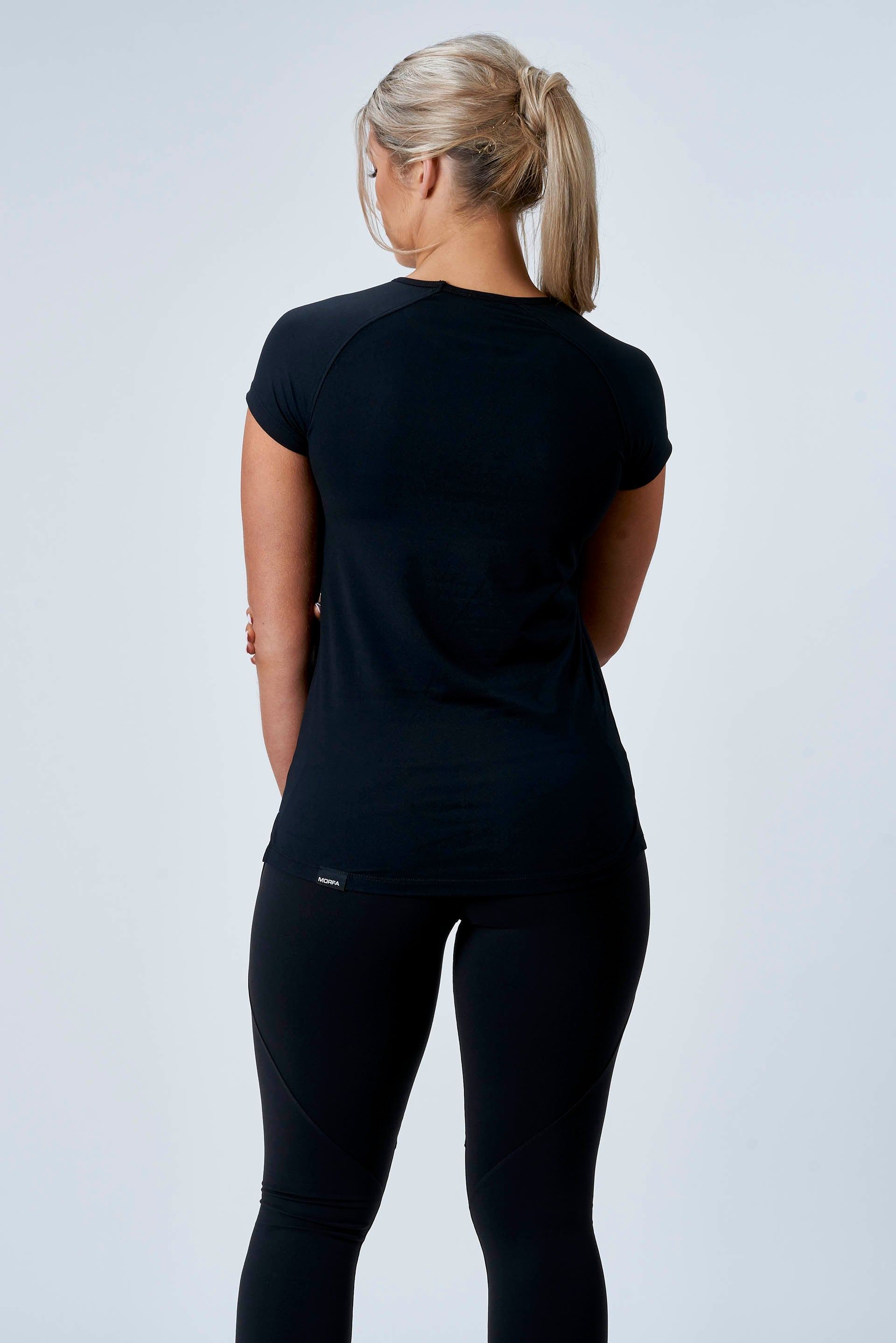 CarbonTech - ATHLETIC TEE - BLACK