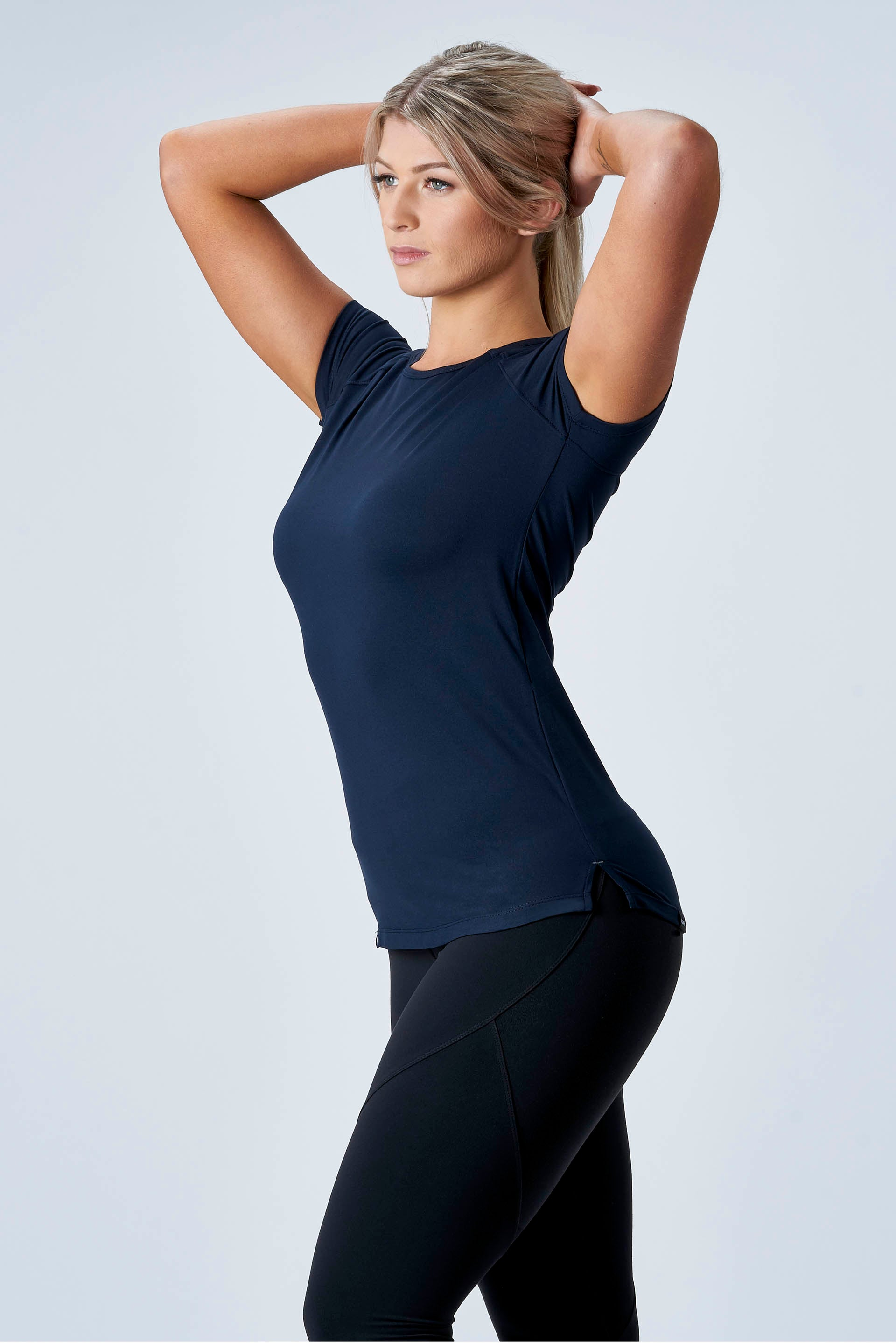 CarbonTech - ATHLETIC TEE - NAVY